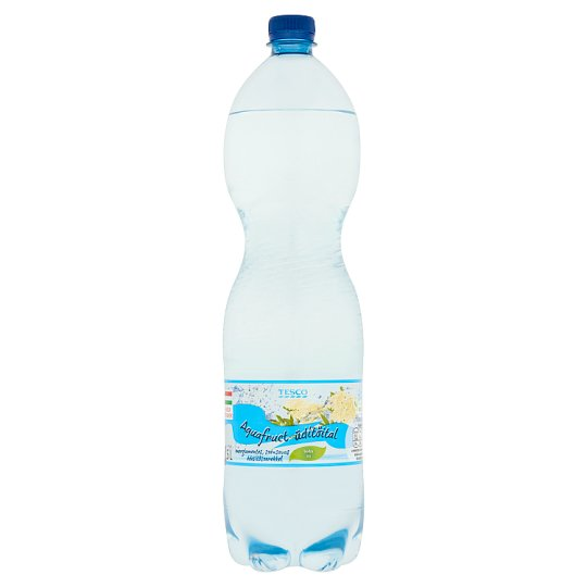 Aquafruct Energy-Free Elderberry Flavoured Carbonated Soft Drink with Sweeteners 1,5 l