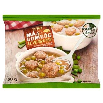 Tesco Quick-Frozen Soup Liver Balls 250 g
