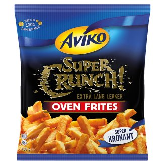 Aviko Super Crunch! Pre-Fried, Quick-Frozen Fries with Extra Crunchy Coatings 750 g