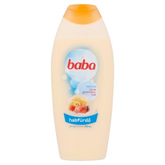 Baba Milk and Fruit Cream Bath Foam 750 ml