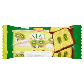 Kuchenmeister Mixed Spnge with Kiwi Fillings Covered in Cocoa 400 g