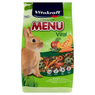Vitakraft Premium Menu Vital Complete Food for Dwarf Rabbits 1 kg
