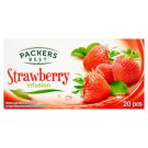 Packers Best Strawberry Infusion eperízű filteres gyümölcstea 20 filter 40 g