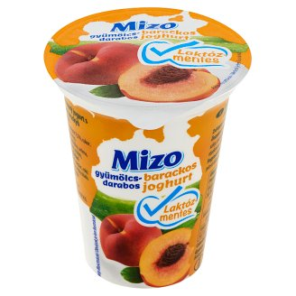 Mizo Lactose-Free Peach Yoghurt with Fruit Pieces 150 g