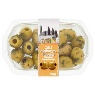Perla Green Olives Marinated with Spices 150 g
