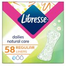 Libresse Natural Care Normal Thin Liners with Aloe Vera and Camomile 58 pcs