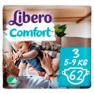 Libero Comfort 3 5-9 kg Premium Nappies 62 pcs