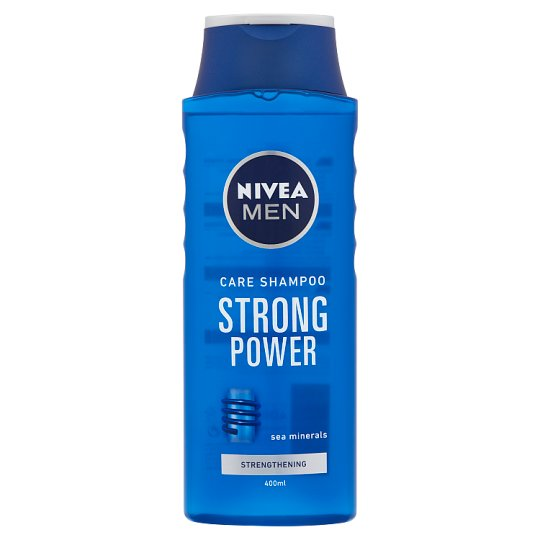 NIVEA MEN Strong Power sampon 400 ml