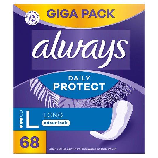 Always Dailies Extra Protect Large Tisztasági Betét, 68 db