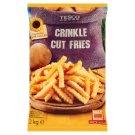 Tesco Quick-Frozen, Pre-Baked Crinkle Cut Fries 2 kg
