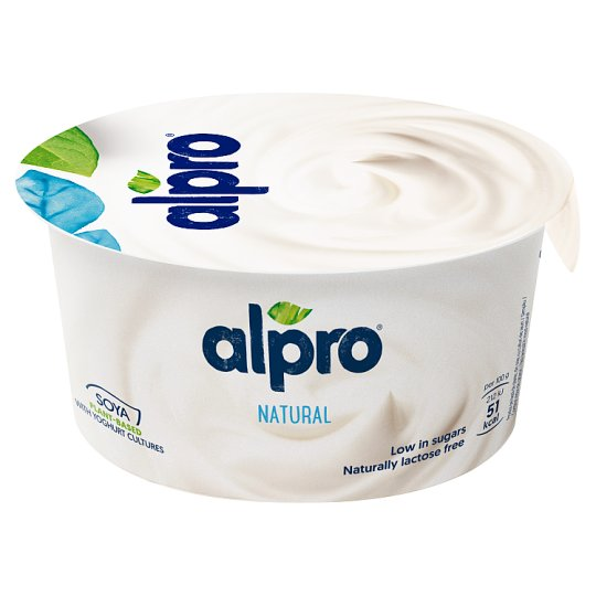 Alpro Unflavoured Vegetable Based Product with Yogurt Cultures 150 g