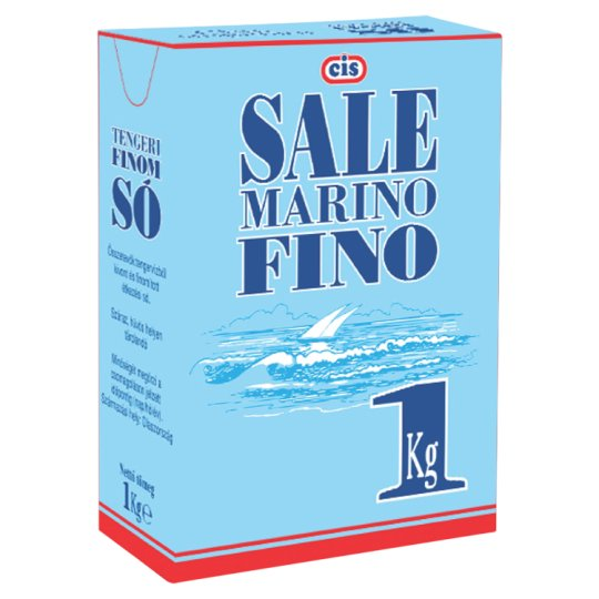 Cis Fine Sea Salt 1 kg