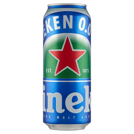 Heineken Non-Alcoholic Lager Beer 0,5 l Can