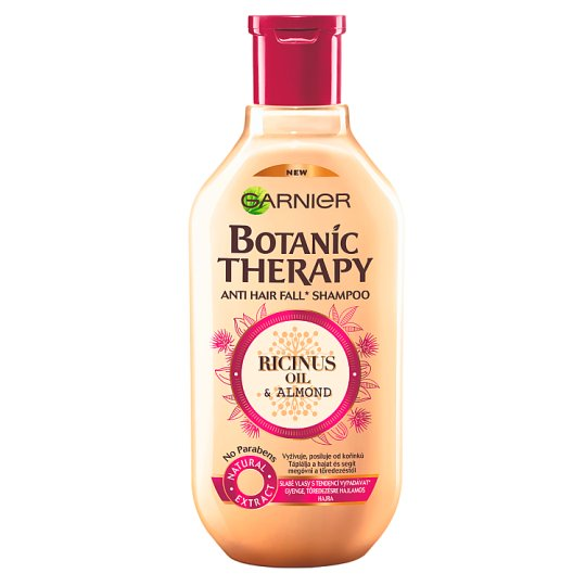 Garnier Botanic Therapy Ricinus Oil & Almond Shampoo for Weak, Damaged Hair 400 ml