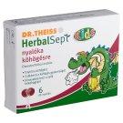 Dr.Theiss HerbalSept Kids nyalóka köhögésre gyermekeknek 3 éves kortól 6 db 60 g