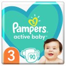 Pampers Active Baby, 3-as Méret, 90 db Pelenka, 6-10 kg