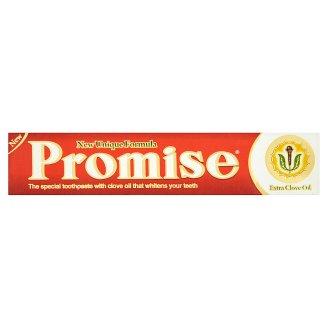 Promise szegfűszeg olaj tartalmú, speciális apró szemcsés, fehérítő hatású fogkrém 150 g
