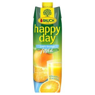 Rauch Happy Day Mild 100% Orange Juice with Calcium 1 l