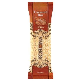 Korona Caramel Bar with Sesame 60 g