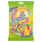 Tesco Candy Carnival Sour Worms savanyúgyümölcs-ízű gumicukor 200 g