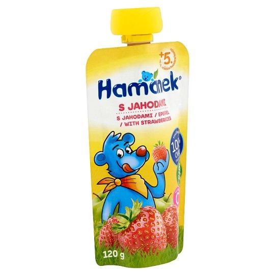 Hamánek bébidesszert eperrel 5 hónapos kortól 120 g