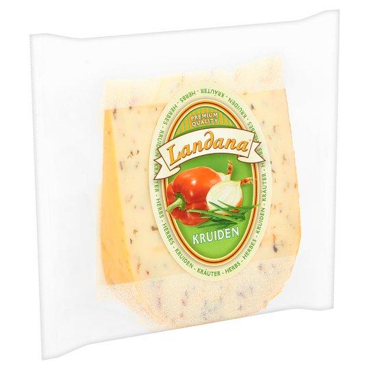 Landana zöldfűszeres gouda sajt 200 g