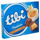 Tibi Pralines Milk Chocolates with Créme Brulée Flavoured Filling 124 g