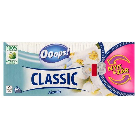 Ooops! Classic Jázmin papír zsebkendő 3 rétegű 90 db