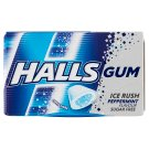 Halls Sugar Free Peppermint Flavoured Gums 18 g