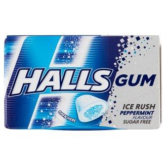 Halls borsmentaízű cukormentes rágógumi édesítőszerekkel 18 g