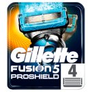 Gillette Fusion5 ProShield Chill Razor Blades For Men, 4 Refills
