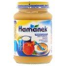 Hamánek Apple-Peach with Sour Cream Dessert for Babies 6+ Months 190 g