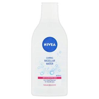 NIVEA gyengéden ápoló micellás arctisztító száraz és érzékeny bőrre 400 ml