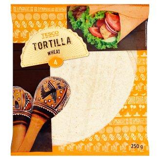 Tesco búzalisztből készült tortilla lapok 4 db 250 g