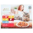 Tesco Pet Specialist teljes értékű állateledel felnőtt macskák számára falatok aszpikban 12 x 100 g