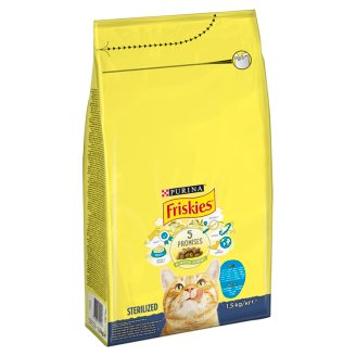 Friskies Sterilised Complete Pet Food for Adult Cats with Salmon 1,5 kg