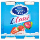 Tesco Low-Fat Strawberry Flavoured Yoghurt Drink with Live Culture 4 x 100 g