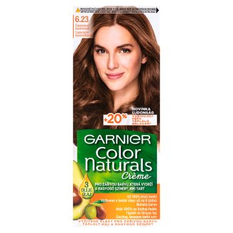 Garnier Color Naturals Crème 6.23 Chocolate Caramel Brown Nourishing Permanent Hair Colorant