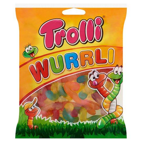 Trolli Neongiliszta gyümölcs ízű gumicukor 100 g