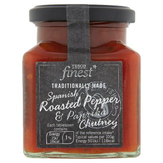Tesco Finest Spanish Roasted Pepper & Paprika Chutney 270 g