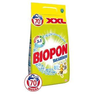Biopon Takarékos mosópor fehér ruhákhoz 70 mosás 4,9 kg
