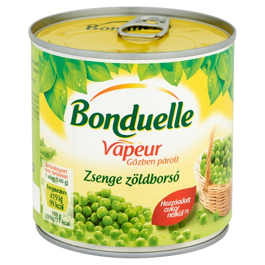 Bonduelle Vapeur Steamed Young Peas 320 g