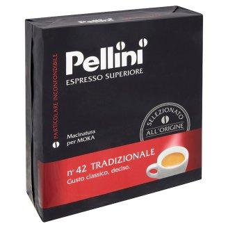 Pellini Espresso Superiore n°42 Tradizionale Ground Coffee 2 x 250 g