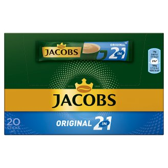 Jacobs Original 2in1 Instant Coffee 20 pcs 280 g