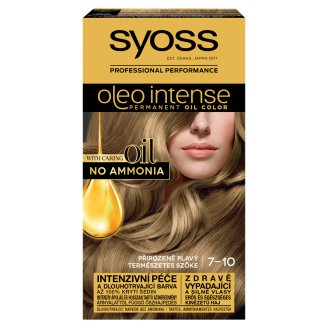 Syoss Color Oleo Intense Oil Hair Colorant 7-10 Natural Blonde