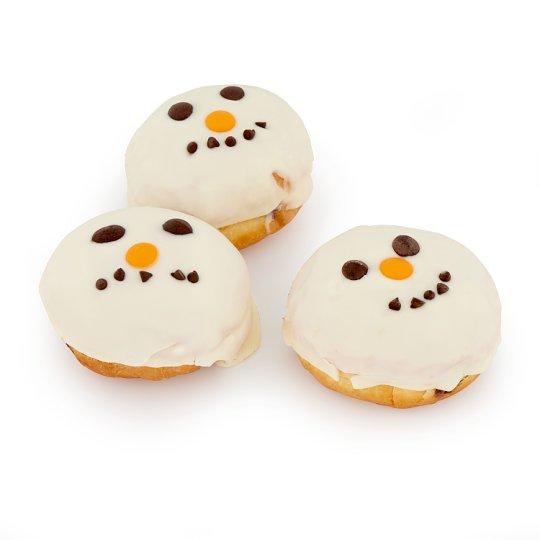 Rendered Snowman Donut 85 g