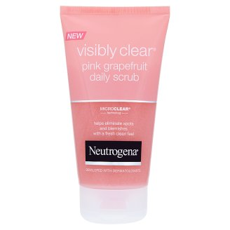 Neutrogena Visibly Clear Pink Grapefruit bőrradír 150 ml
