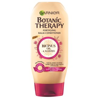 Garnier Botanic Therapy Ricinus Oil & Almond Balm-Conditioner for Weak and Damaged Hair 200 ml