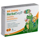 Dr.Theiss HerbalSept Kids Lollipop for Sore Throat for Kids 3 Years+ 6 pcs 60 g