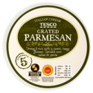 Tesco Grated Parmesan Cheese 100 g